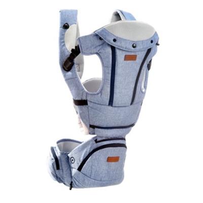 NAC NAC 腰凳式減壓嬰兒揹帶(雅緻藍)