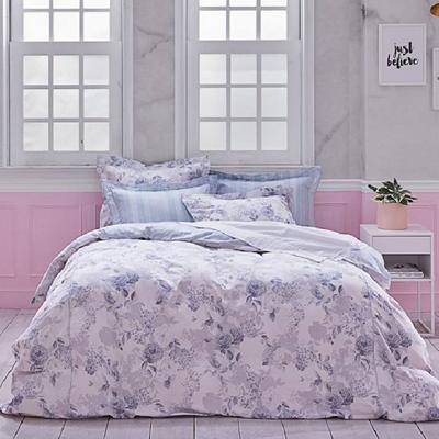 ROXETTE精梳細棉印花雙人全套床組-玫瑰情緣
