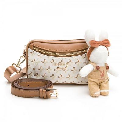 斜背包可做腰包使用 四季兔的午茶時光系列
