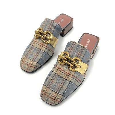 復古穆勒拖鞋