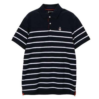 男款條紋POLO衫