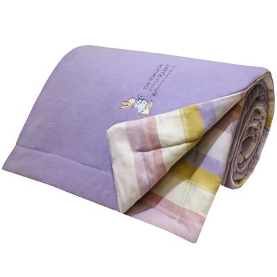 英倫彩虹奈米銀保暖棉毯(150x195cm)