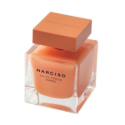 Narciso晨光琥珀淡香精90ml+4ml+蜜糖隨身鏡化妝包