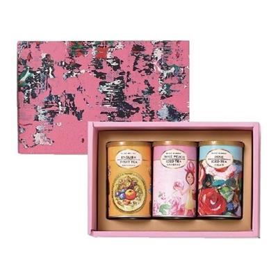 英式冰茶禮盒(英式水果+玫瑰水蜜桃+玫瑰冰茶)