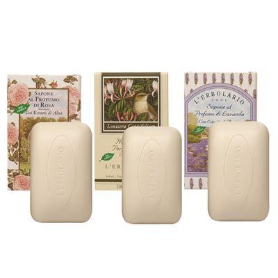 草本植物皂(玫瑰/忍冬/薰衣草) 任選6個
