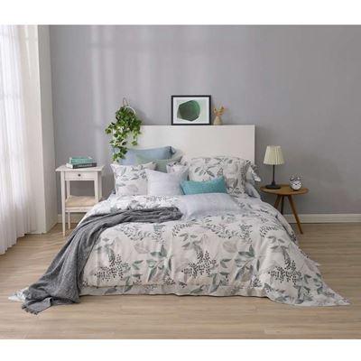 萊賽爾4件式兩用被雙人床包組 買1送1 贈水洗枕