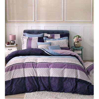 精梳棉4件式兩用被雙人床包組 買1送1