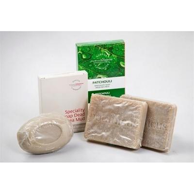 廣霍香死海泥70g*2+死海泥乳油木果皂75g