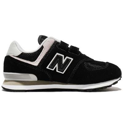 童款574休閒鞋-黑