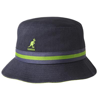 Stripe棉質漁夫帽(4色)