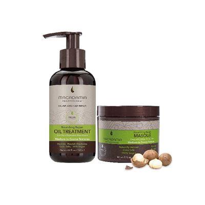 Macadamia Professional堅果深層滲透護髮組