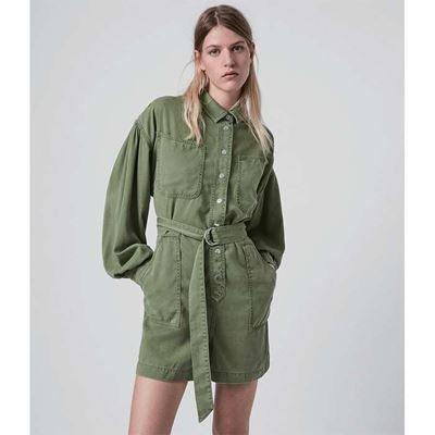 JESS軍綠色連身短褲
