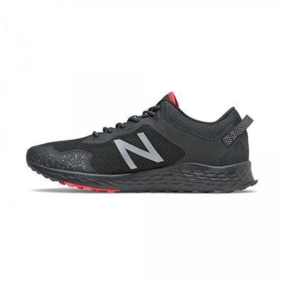 男款ARISHI輕量越野跑鞋-黑色