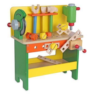 專業小工匠工具台 獨家贈消防救援列車