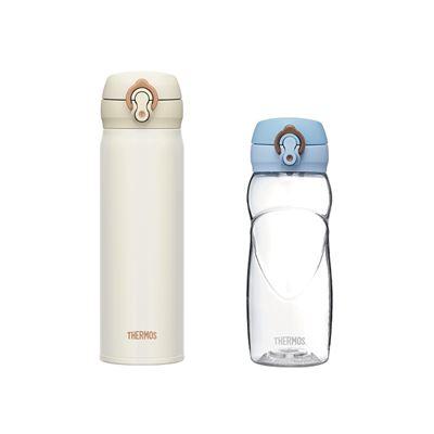 輕量保溫瓶500ml+冷水瓶500ml