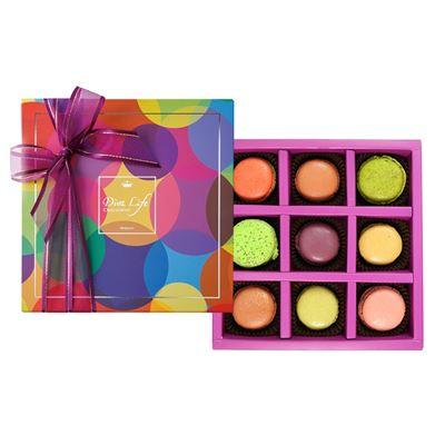馬卡龍9入禮盒+銀饌10入禮盒