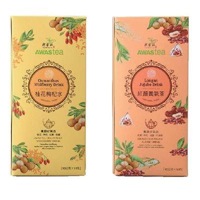 桂花枸杞水/紅顏養氣茶(10入)x2盒