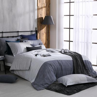 精梳棉7件式雙人床罩組