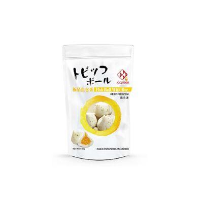 極品魚蛋包/芥末飛魚卵/炙燒起司丸