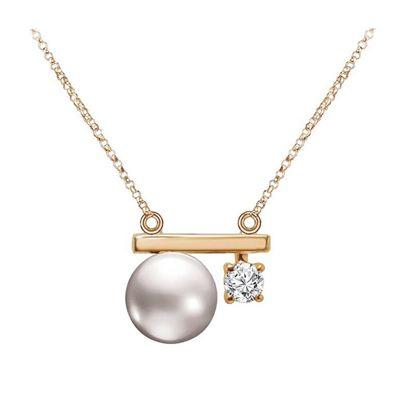 星月系列 天然珍珠K金項鍊