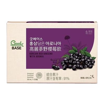 高麗蔘野櫻莓飲(50ml*30入)