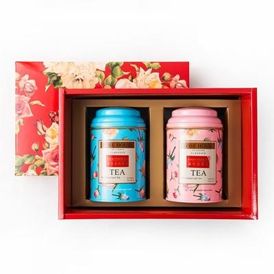 英國茶2入禮盒(倫敦蜜桃茶+太妃紅茶)