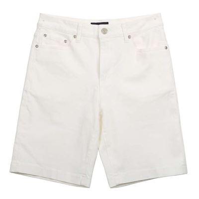 素面白短褲