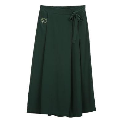 優雅綁帶褲裙