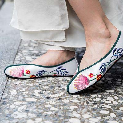 合掌鞋 - 合歡 (白色)