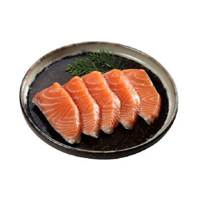 空運挪威鮭魚(100g,半輪切去骨)-673913