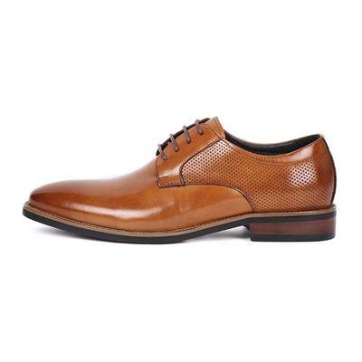 經典素面漸層皮革紳士鞋