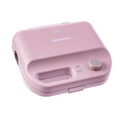 多功能計時鬆餅機(絳紫)贈烤盤+馬克杯-怡眾國際