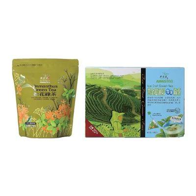 黃金超油切冷泡綠茶120入+茶包20入(口味隨機)