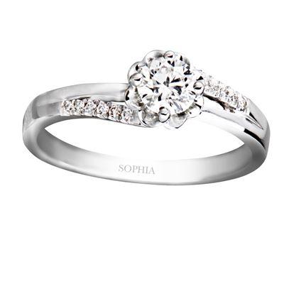 幸福捧花30分鑽石戒指