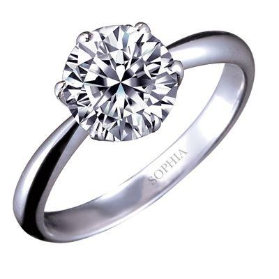 六爪1.5克拉鑽石戒指((附GIA證 Dolor)