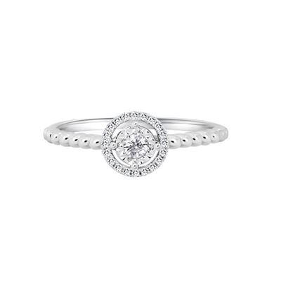 十分放大款鑽石戒指