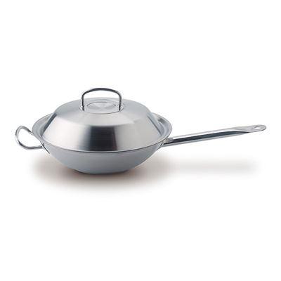 德國製主廚系列-中式單柄炒鍋30cm