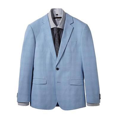 格紋休閒獵裝(外套+襯衫,不含領帶)