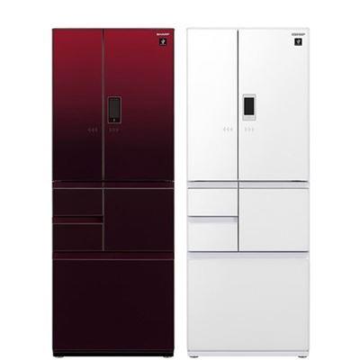 日本原裝六門冰箱502L(SJ-GX50ET)贈手持攪拌棒-新各界