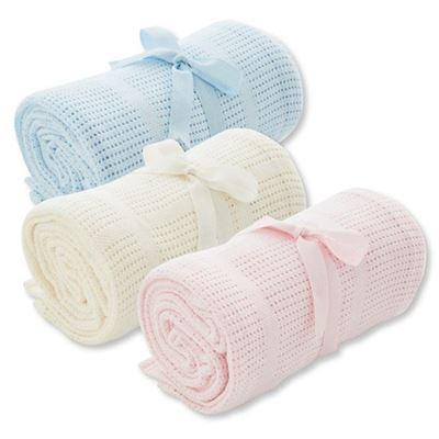 洞洞棉毯*2(1大+1小)