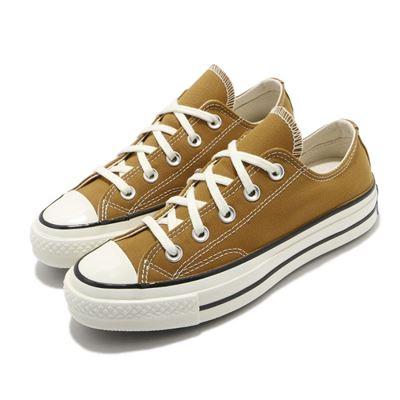 男女款低筒CHUCK taylor休閒鞋-棕色