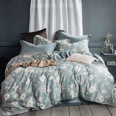 天絲6件式雙人床罩組