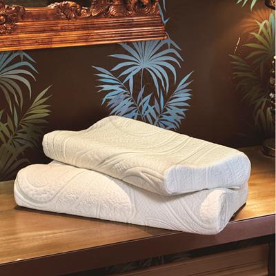 希臘蓋婭量身紓壓枕1對 贈抗菌小方巾1件