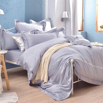 長絨細棉兩用被雙人床包組 贈保潔墊1組