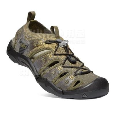 男款Evo fit One休閒涼鞋-橄欖綠