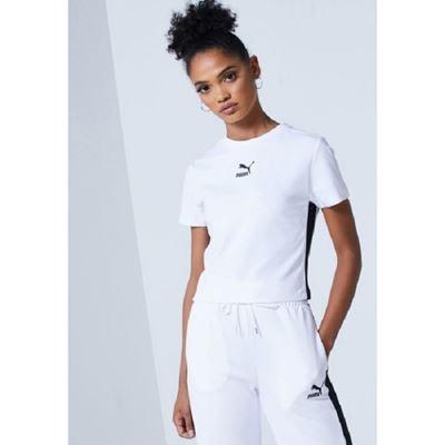 女款Classic短袖T恤-白