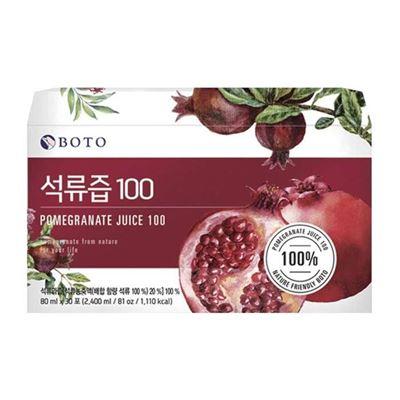 100%紅石榴精華飲30入禮盒X2盒組