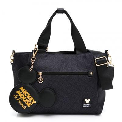 米奇系列-提包附長背帶 Icon系列 -黑色