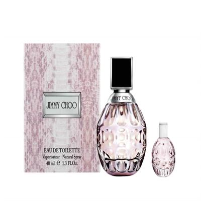 JIMMY CHOO同名淡香水40ml+淡香水迷你瓶4.5ml
