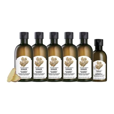天然植萃系列洗髮精400ml*5+洗/護250ml*1